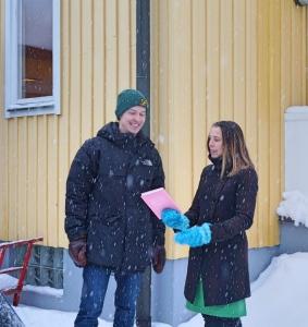 Oskar Lindberg o Åsa Axelsson